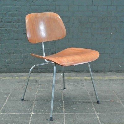 DCM Dinner Chair by Charles and Ray Eames for Herman Miller