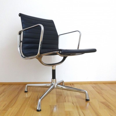 EA108 Leather Office Chair by Charles and Ray Eames for Vitra