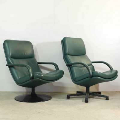 F154 and F156 Lounge Chair by Geoffrey Harcourt for Artifort