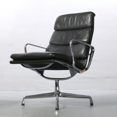 Eames Soft Pad Lounge Chair By Charles U0026 Ray Eames For Herman Miller, 1950s