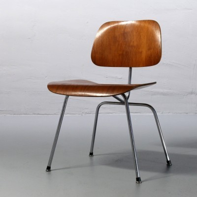 DCM / Dining Chair Metal Dinner Chair by Charles and Ray Eames for Herman Miller