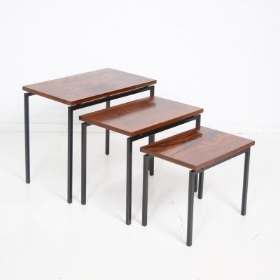 Japanese Series Nesting Table by Cees Braakman for Pastoe