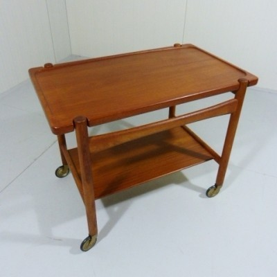 Serving Trolley by Hans Wegner for Andreas Tuck