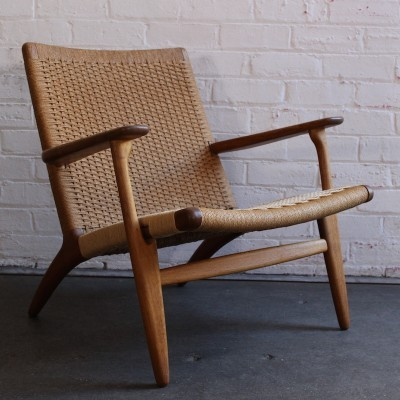 CH-25 Lounge Chair by Hans Wegner for Carl Hansen and Son