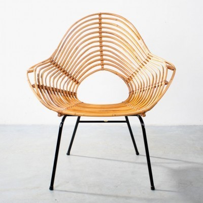 Lounge Chair by H. Broekhuizen for Rohé Noordwolde