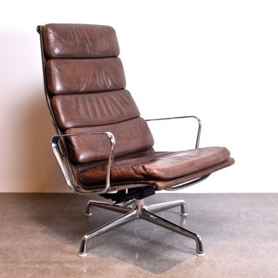 Eames Soft Pad Lounge Chair ea222 softpad lounge chaircharles & ray eames for vitra | #26354
