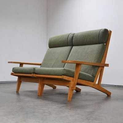 GE-375 Lounge Chair by Hans Wegner for Getama