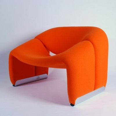 Groovy Chair F598 (M Chair) Lounge Chair by Pierre Paulin for Artifort