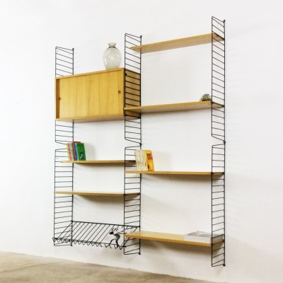 Wall Unit by Nisse Strinning and Kajsa Strinning for String Design AB