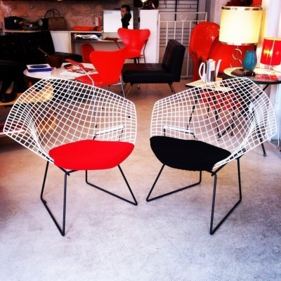 Diamond Lounge Chair by Harry Bertoia for Knoll
