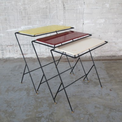 Nesting Table by Tjerk Reijenga for Pilastro