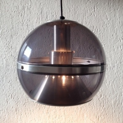 Globe hanging lamp from the sixties by unknown designer for Dijkstra lampen