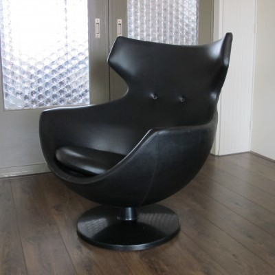 Jupiter or Egg Lounge Chair by Pierre Guariche for Meurop