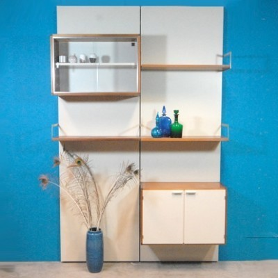 Japanese Series Wall Unit by Cees Braakman for Pastoe