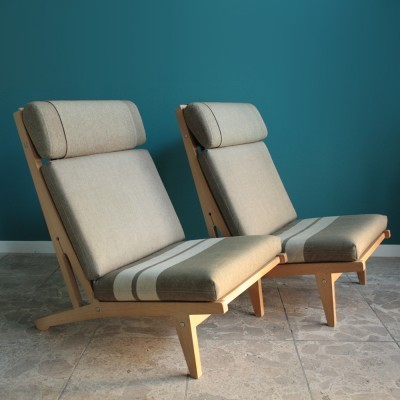 GE 375 Lounge Chair by Hans Wegner for Getama