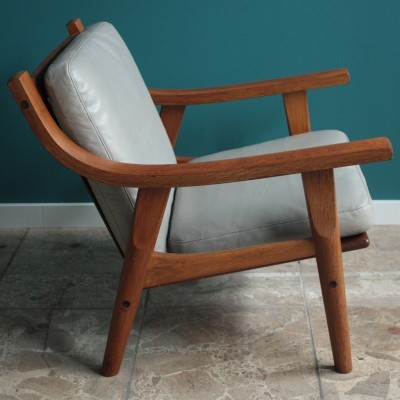 GE 530 Lounge Chair by Hans Wegner for Getama