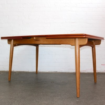 Model AT 312 Dining Table by Hans Wegner for Andreas Tuck