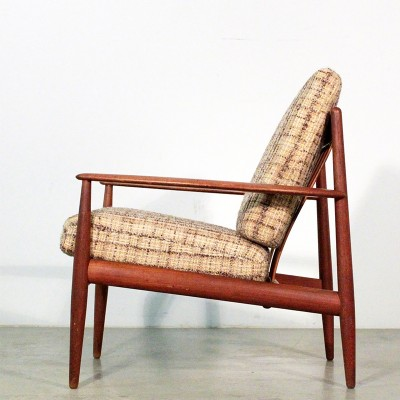 Lounge Chair by Grete Jalk for France and Daverkosen
