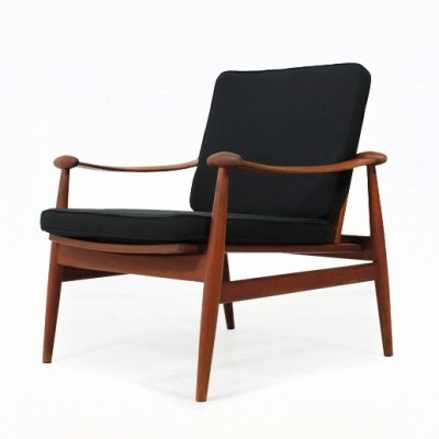 Mod. 133 Lounge Chair by Finn Juhl for France and Son
