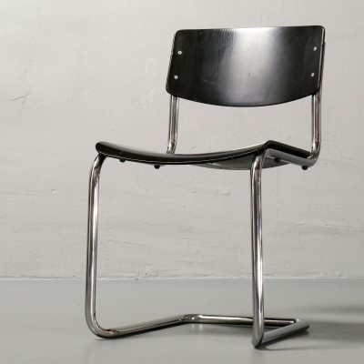 S 43 Dinner Chair by Mart Stam for Thonet