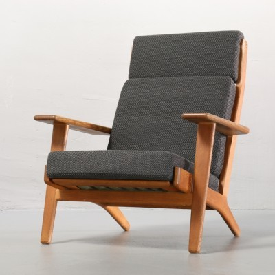GE 290 H Lounge Chair by Hans Wegner for Getama