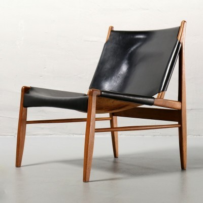 Kaminsessel Lounge Chair by Franz Xaver Lutz for WK Möbel