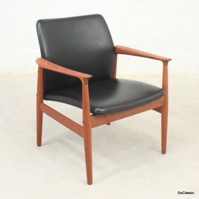 Lounge Chair by Grete Jalk for Unknown Manufacturer