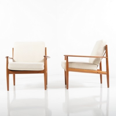 Model 118 Lounge Chair by Grete Jalk for France and Son