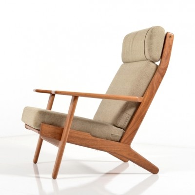 GE-290 H Lounge Chair by Hans Wegner for Getama