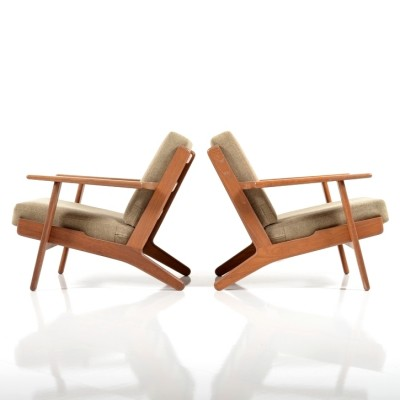 GE-290 Lounge Chair by Hans Wegner for Getama