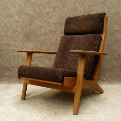 Model GE-290 Lounge Chair by Hans Wegner for Getama