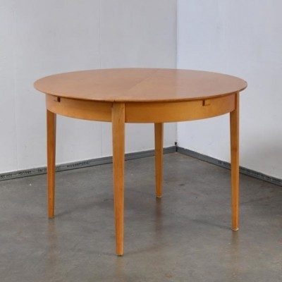 Birch Series Dining Table by Cees Braakman for Pastoe