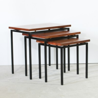Japanese Serie Nesting Table by Cees Braakman for Pastoe