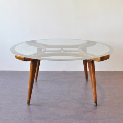 Acrilan coffee table by William Watting for Fristho, 1950s
