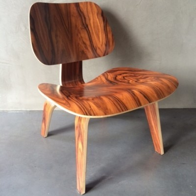 LCW Lounge Chair by Charles and Ray Eames for Herman Miller