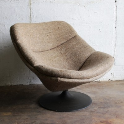 F557 Lounge Chair by Pierre Paulin for Artifort