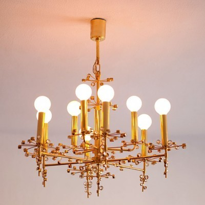 Hanging Lamp by Unknown Designer for Bakalowits and Soehne
