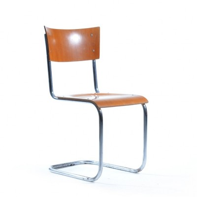 2 x dining chair by Mart Stam for Kovona NP, 1960s