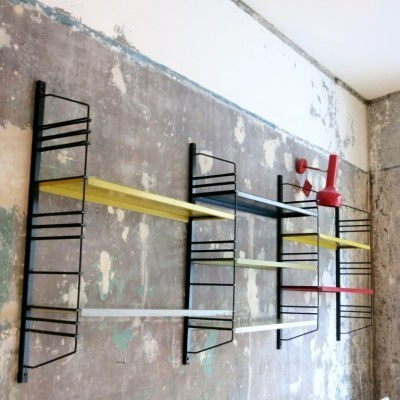 Book Shelves Wall Unit by Unknown Designer for Pilastro