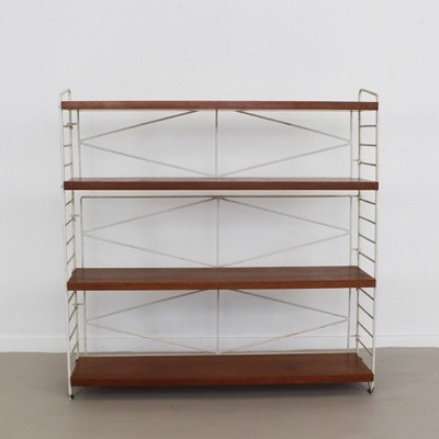 String Wall Unit by Nils Strinning for String Design AB