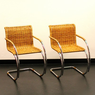 MR Side Chair Dinner Chair by Ludwig Mies van der Rohe for Thonet