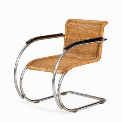 MR534 Lounge Chair by Ludwig Mies van der Rohe for Thonet