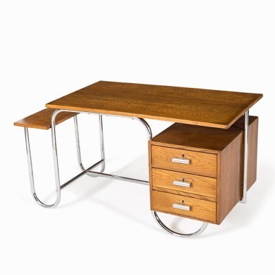 B327 Variant Writing Desk by André Lurçat for Thonet