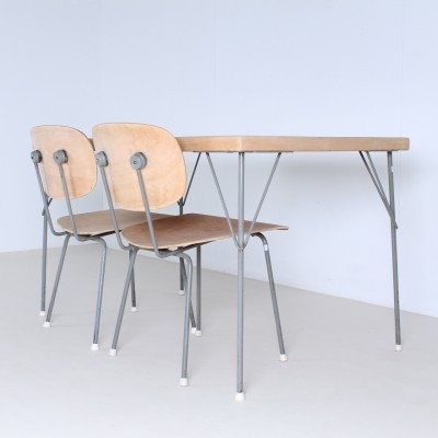 3705 Dining Table by Wim Rietveld for Gispen