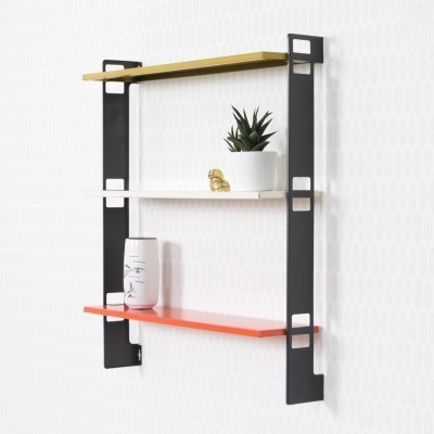 Pocketbook Wall Unit by A. Dekker and D. Dekker for Tomado Holland