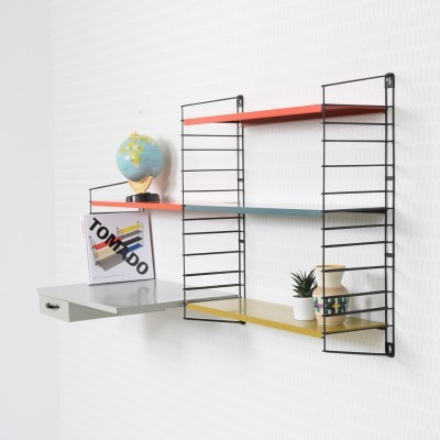 Desk Wall Unit by A. Dekker and D. Dekker for Tomado Holland