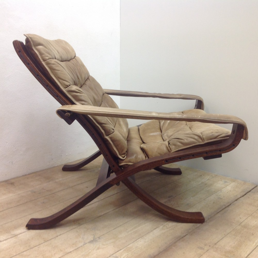 The Folding Flex Chair Lounge Chair from the sixties by Ingmar Relling for Westnofa #32366