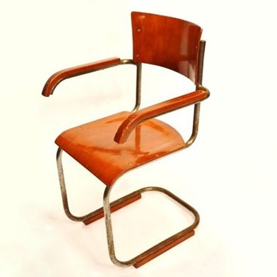 B43f Office Dining Chair By Mart Stam For Thonet 1930s 32450