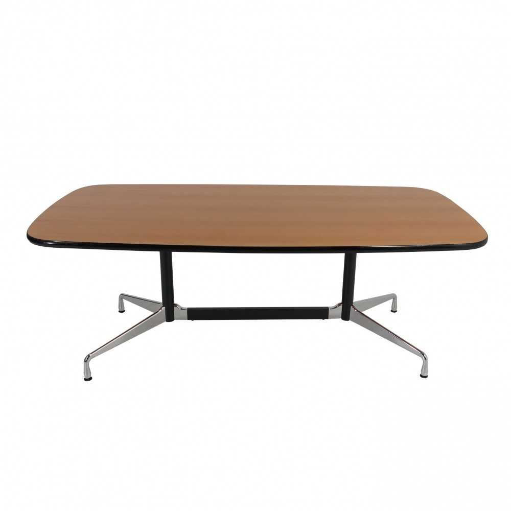 segmented dining table by charles ray eames for vitra 1960s 32480. Black Bedroom Furniture Sets. Home Design Ideas