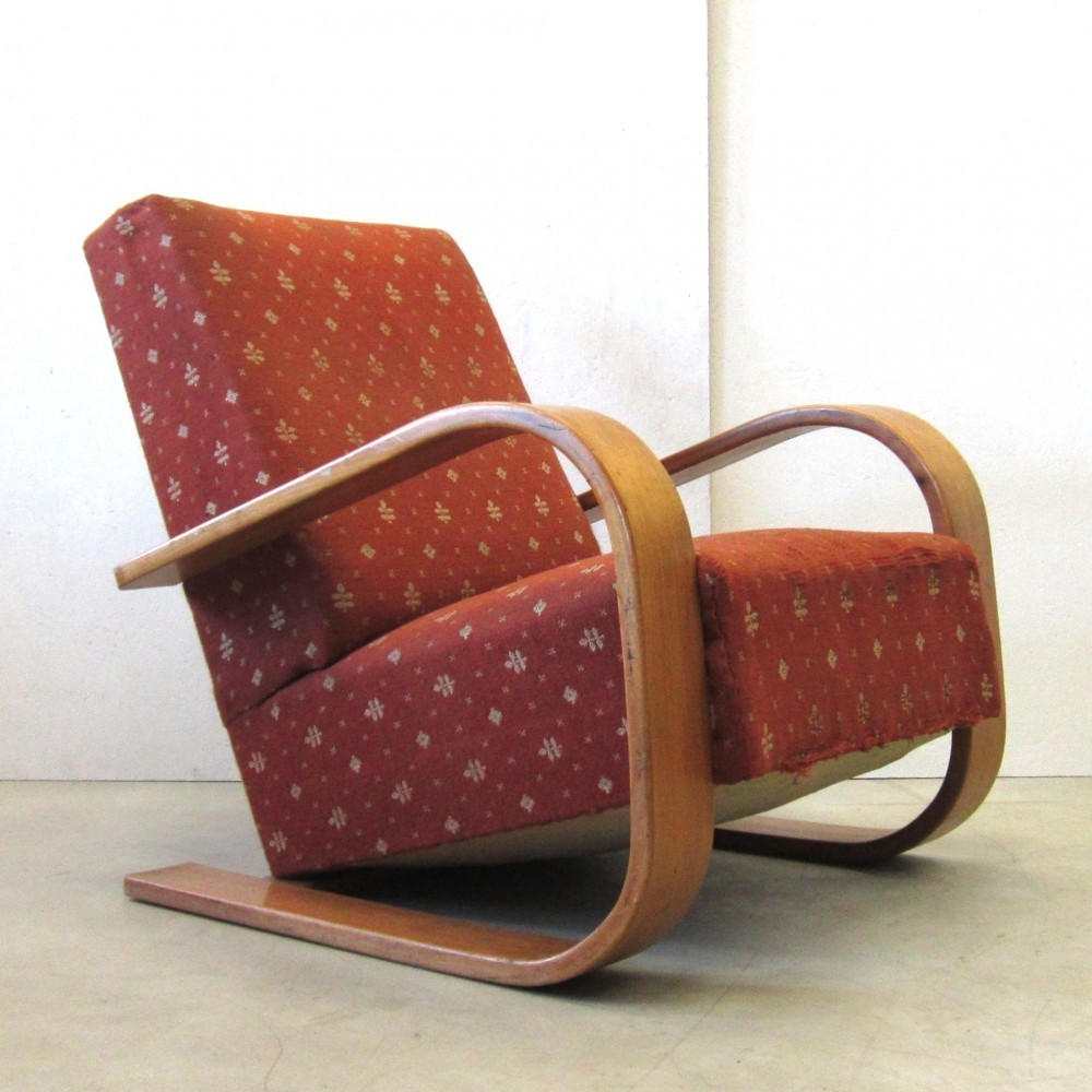 Tank Lounge Chair from the twenties by Alvar Aalto for Unknown Producer